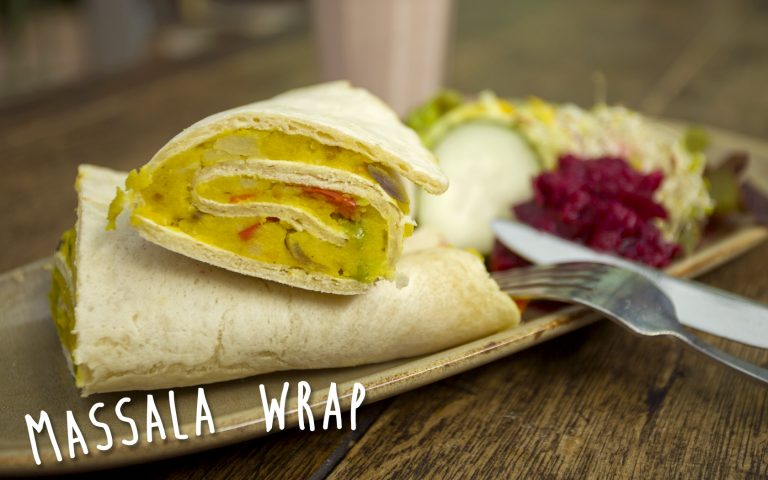 Massala wrap